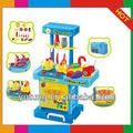 baratos de plástico de cocina para niños conjunto de juguete
