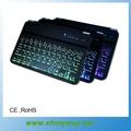 para ipad de aire retroiluminación del teclado para ipad de aire