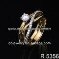Los anillos de boda de moda