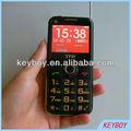 teléfono móvil con número grande, mobile phone with big number