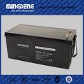pv energia gel sem manutenção agm bateria 12v 200ah