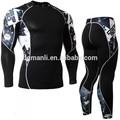 ventas al por mayor ropa de deporte gimnasio larga ropa larga y pantalones gimnasio conjuntos de compresión