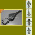 Metal ponta de lança, cerca de alumínio ponta de lança, decorativa fence finials, cercas de metal remates