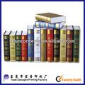 barato y de alta calidad decorativa libro falso con estampación en caliente