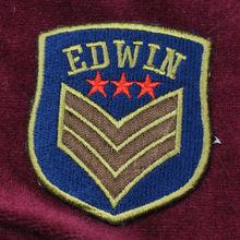 insignias bordadas accesorio de la ropa etiquetas etiquetas bordadas