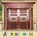 puertas de entrada de cobre de lujo