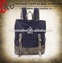 mochila de lona mochila de la escuela