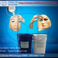 Molde de silicone para máscara de Halloween