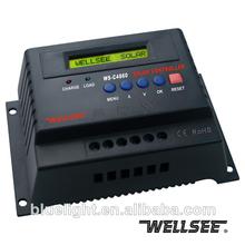 48v 60a pv pwm regulador de carga solar ws-c4860 controlador lcd de pantalla