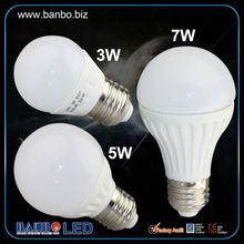 De cerámica precio barato 3/5/7/9w g4 bombilla led de la lámpara