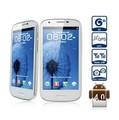 Feiteng GT-i9300 4,7 pulgadas Android 4.0.4 + teléfono inteligente 3G con pantalla WVGA Dual SIM Dual Core MTK6577 Cámara de 8MP