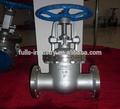 De acero inoxidable aumento de vástago de válvula de compuerta z41w-16p para petróleo y gas y el agua