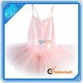 Los niños de ballet de danza vestido de falda tutu rosa( f00343)