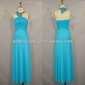 fabuloso gd3122 halter plisado becerro de mediados de longitud vestido formal