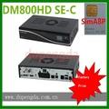 China precio de fábrica de satélite hd receptor de cable dm800se-c simcard a8p w/o de wifi
