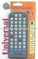 uvr0132 12 en 1 universal de control remoto con un estilo agradable código de control remoto tv china televisor controlfood