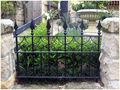 Vallas de hierro forjado de la foto/valla de hierro forjado diseños para los hogares