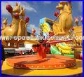 espaço de diversões passeios crianças pequenas crianças canguru pulando de diversões rides