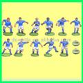 Personalizado a medida de fútbol juguetes figuras/jugador de fútbol elhombredejuguetes