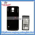 Extendido de la batería caso con el extendido de la batería para samsung s5 i9600 6500 mah 3.8v(82021247)