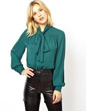 H650015 mujeres atractivas diseños formales blusa