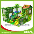 2014 venda quente tema floresta equipamentos de playground indoor para crianças le. T2.211.131.00