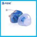 Construído- no zumbido mascarado cic 8 canais de aparelhos auditivos digitais no mercado frança