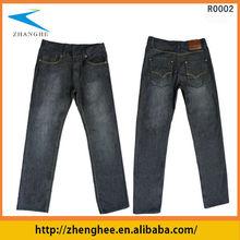 Buena- lavado suave y pantalones vaqueros, pantalones vaqueros enérgico