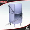 Hotel hood tipo industrial máquina de lavar louça comercial, louça máquina de lavar roupa