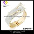 Pulseras de oro de lujo Dubai Oro Brazaletes Últimos diseños