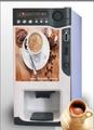3 caliente máquina expendedora de café/bebida instantánea café máquina automática expendedora