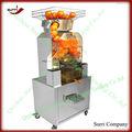 bares de jugo de naranja de la máquina