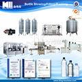 Proyecto llave en mano para la línea de llenado de agua potable mineral