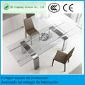 Fabrica de mesas de vidrio mesa extensible