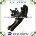 chat résine sculpture décoration