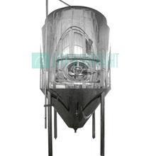 de acero inoxidable pulido brillante de cerveza de fermentación del tanque para la venta