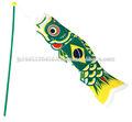 No. 10 brasil & japão koinobori ( o cilíndrica galhardete que teve diferentes tipos de bandeira nacional para o design )