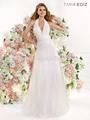Caliente venta elegante blanco sin de largo damas de noche desgaste de la fiesta con cuentas vestido de princesa vestido de fies