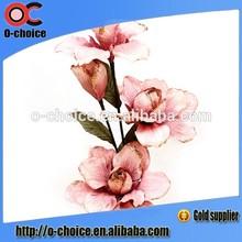 atacado orquídea flores artificiais para a decoração do casamento