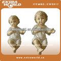 porcelana religiosa bebé figura