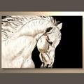 el más reciente de los animales hechos a mano la textura lienzo de pintura para la decoración