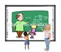 Con el apoyo del oem 99'' blanco tablero digital para la escuela/tablero blanco/multi touch pizarra interactiva