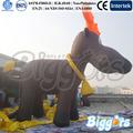 popular modelo de anúncio inflável personagem rena rudolph ar dos desenhos animados