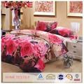 nuevo diseño de la flor elegante de impresión colorida magia de zhejiang alta calidad 3d colchas