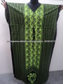 kaftans de algodão estampado longo indiano feito vestidos de túnicas