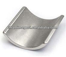 La forma de arco eodymium segmento motor eléctrico magnet\ndfeb permagnet imanes