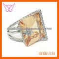 venta caliente de moda anillos de oro de diseño para mujeres