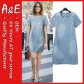 ae fashion designer jean dans une robe pièce
