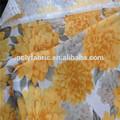 soft handle100 poliéster impressão do pigmento tecido tecido da microsoft
