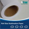 Papel de grande formato impressora de sublimação